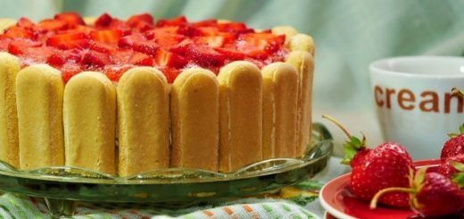 ladyfinger strawberry cheesecake cover