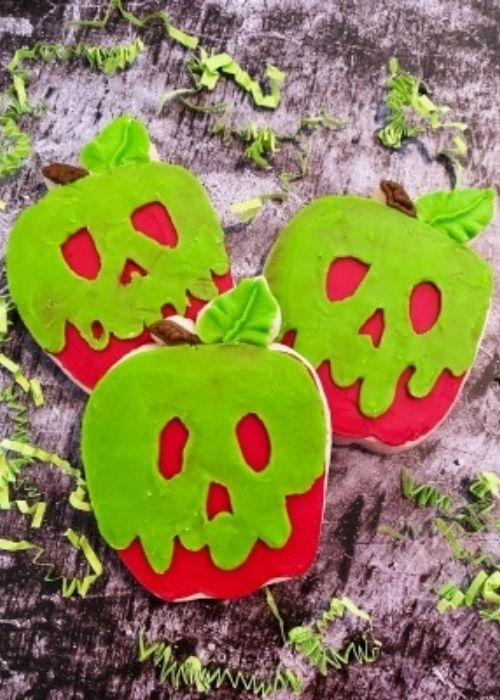 poison apple cookies quirky treats